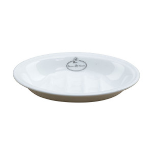 Mýdlová miska bílá)
